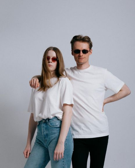 T-shirt z konopi unisex - Our First