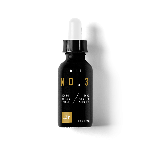 Olio di CBD Eir Health NO.3 - 300mg di CBD